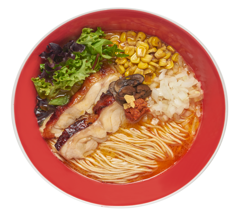 Teriyaki Chicken Spicy Soba